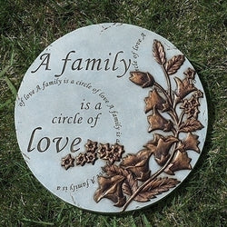 A Family is Circle of Love Garden Stone - LI11849