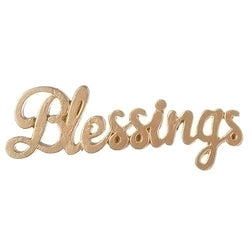 Blessings Word Cut Out - LI12103