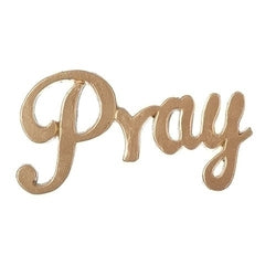Pray Word Cut Out - LI12104