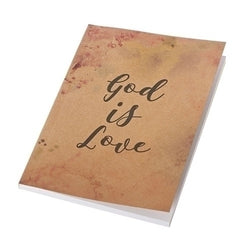 God is Love Notebook - LI12176