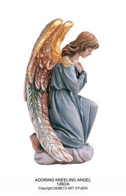 Adoring Kneeling Angels - HD1260A