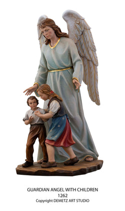 Guardian Angel with Child - HD1262