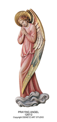 Praying Angel - High Relief  - HD12672