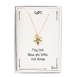 Gold First Communion Necklace - LI12777