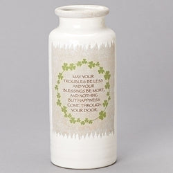 Irish Vase with Wreath - LI12818