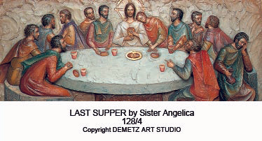 Last Supper by Sister Angelica -HD1284