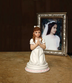 First Communion Girl Figurine - HX13486G
