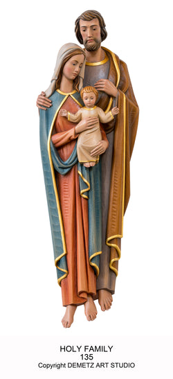 Holy Family - 3/4 Relief - HD135