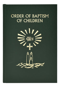 The Order of Baptism of Children Revised Edition - GF13622