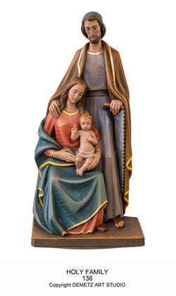 Holy Family - 3/4 Relief -HD136