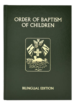 The Order of Baptism of Children Bilingual Revised Edition - GF13822