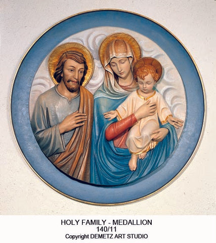 Holy Family - with background panel -HD14011