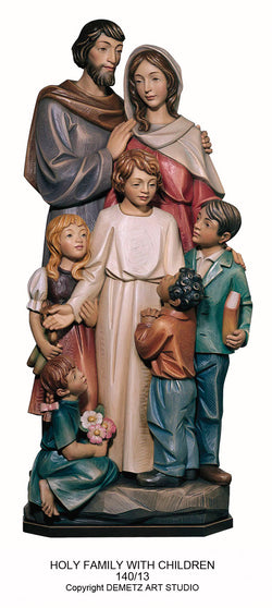 Holy Family With Children - HD14013FR