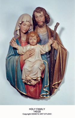 Holy Family - 3/4 Relief - HD14020