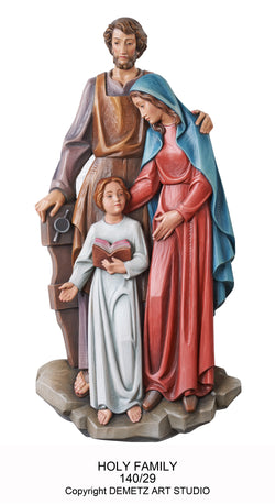 Holy Family - 3/4 Relief - HD14029