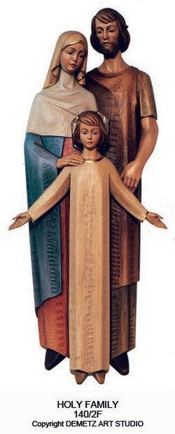 Holy Family - 3/4 Relief - HD1402F