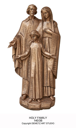 Holy Family - Full Round Figure - HD1403BFR
