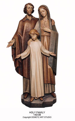 Holy Family - 3/4 Relief - HD1403B