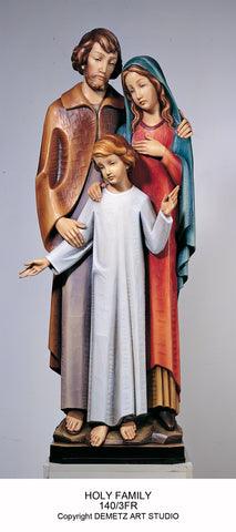 Holy Family - Full Round Figure - HD1403FR