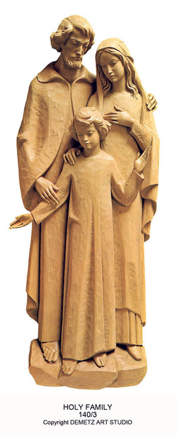 Holy Family - 3/4 Relief - HD1403