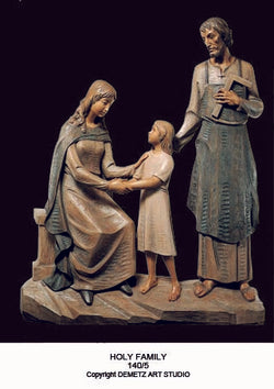 Holy Family - 3/4 Relief -HD1405