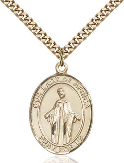 Our Lady of Africa Medal - FN7269GF24G