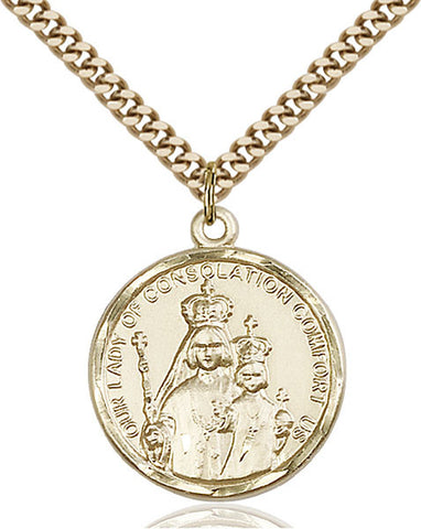 Our Lady of Consolation Medal - FN0038GF24G