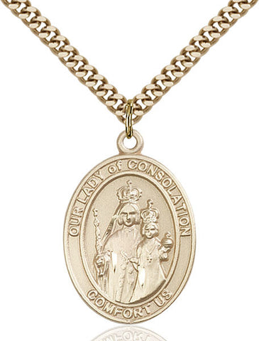 Our Lady of Consolation Medal - FN7292GF24G