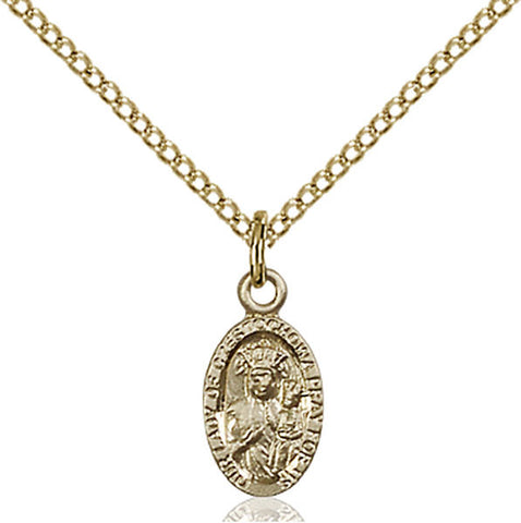 Our Lady of Czestochowa Medal - FN6091GF18GF