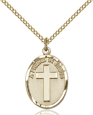 A Friend In Jesus Medal - FN0881GF18GF