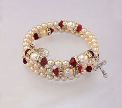 Adult Ruby (July) Bracelet - HX14298/RB