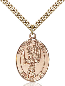 Guardian Angel/Baseball Medal - FN7700GF24G