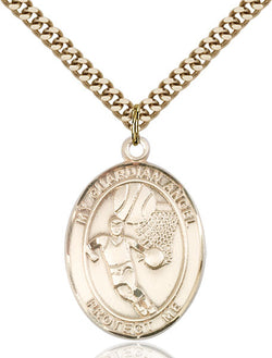 Guardian Angel/Basketball Medal - FN7702GF24G