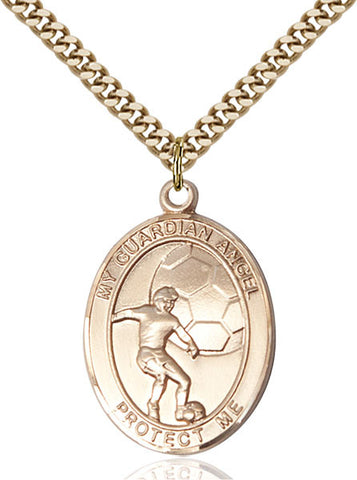 Guardian Angel/Soccer Medal - FN7703GF24G