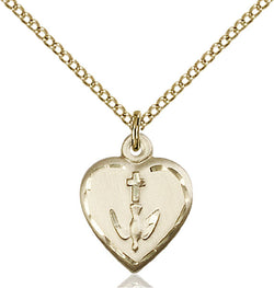 Heart / Confirmation Medal - FN0891GF18GF
