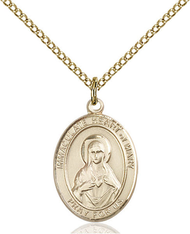 Immaculate Heart of Mary Medal - FN8337GF18GF