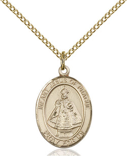 Infant of Prague Medal - FN8207GF18GF