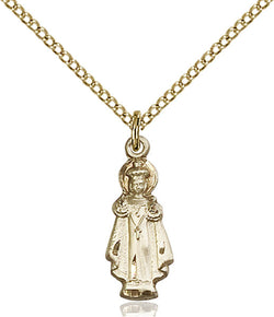 Infant of Prague Medal - FN0823GF18GF