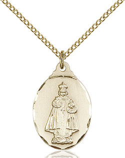 Infant of Prague Medal - FN0599IGF18GF
