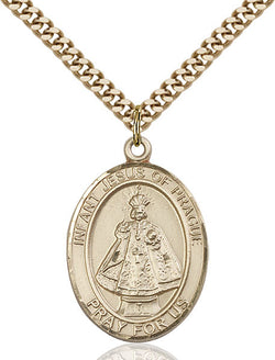 Infant of Prague Medal - FN7207GF24G