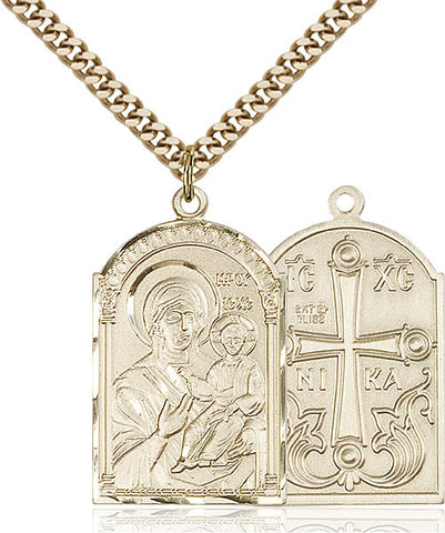 Mother of God Medal - FN0267GF24G