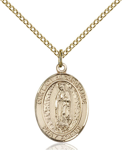 Our Lady of Guadalupe Medal - FN8206GF18GF
