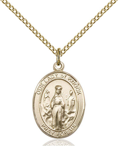 Our Lady of Knock Medal - FN8246GF18GF