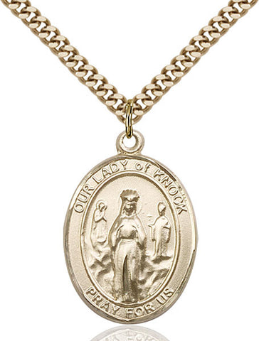 Our Lady of Knock Medal - FN7246GF24G