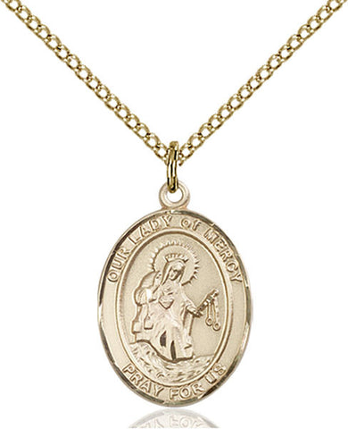 Our Lady of Mercy Medal - FN8289GF18GF