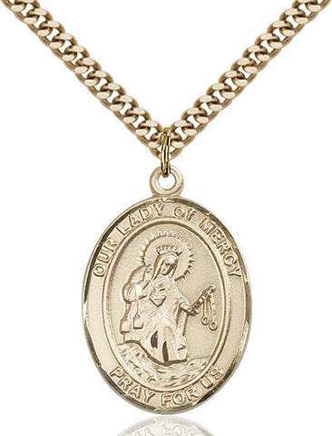 Our Lady of Mercy Medal - FN7289GF24G