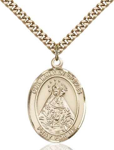 Our Lady of Olives Medal - FN7303GF24G