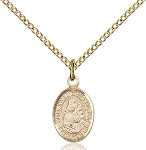 Our Lady of Prompt Succor Medal - FN9299GF18GF