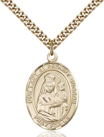 Our Lady of Prompt Succor Medal - FN7299GF24G