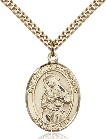 Our Lady of Providence Medal - FN7087GF24G